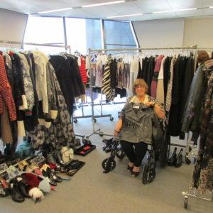 Fashion Nirvana! The closet at Elle Magazine!
